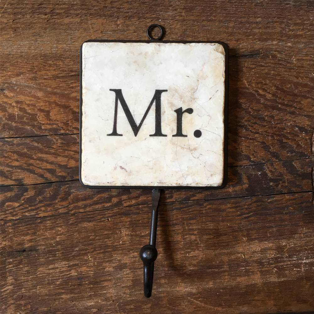 studio vertu studio vertu tile hooks mr & mrs