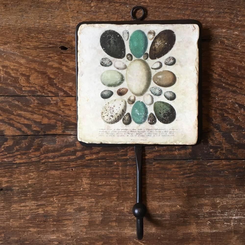 studio vertu tile hooks bird & eggs