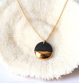 mier luo mier lou gold dipped necklace