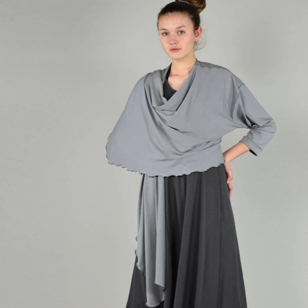 angelrox prima jacket black + tan bamboo