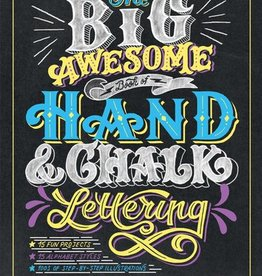 penguin random house the big awesome book of hand crafted & chalk lettering