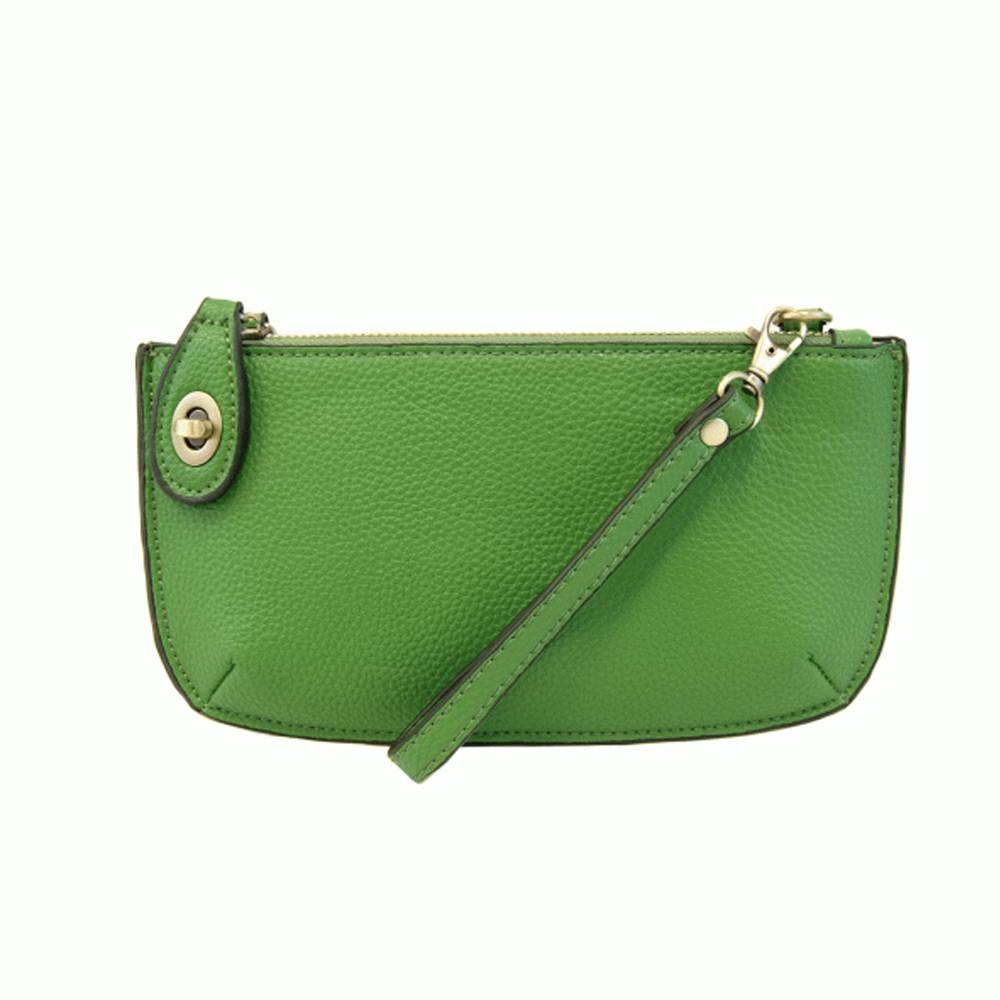 joy accessories  mini crossbody wristlet clutch