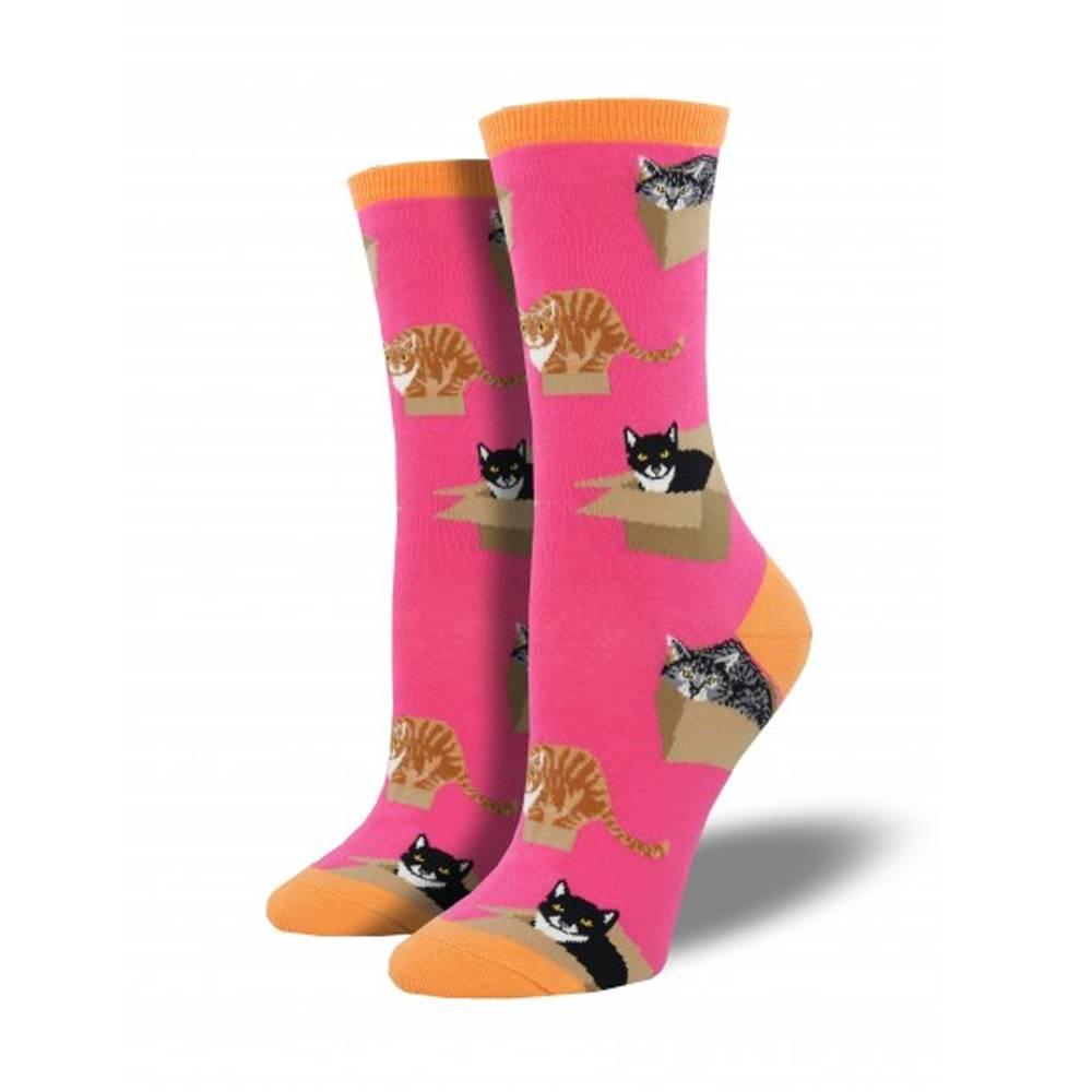 socksmith cat in a box socks
