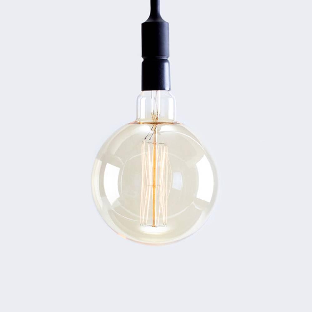 "american design club ADC 8"" x 13"" edison filament vintage globe bulb"