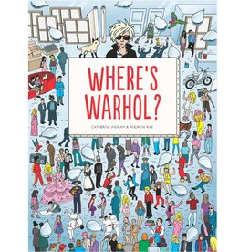 chronicle books where's warhol