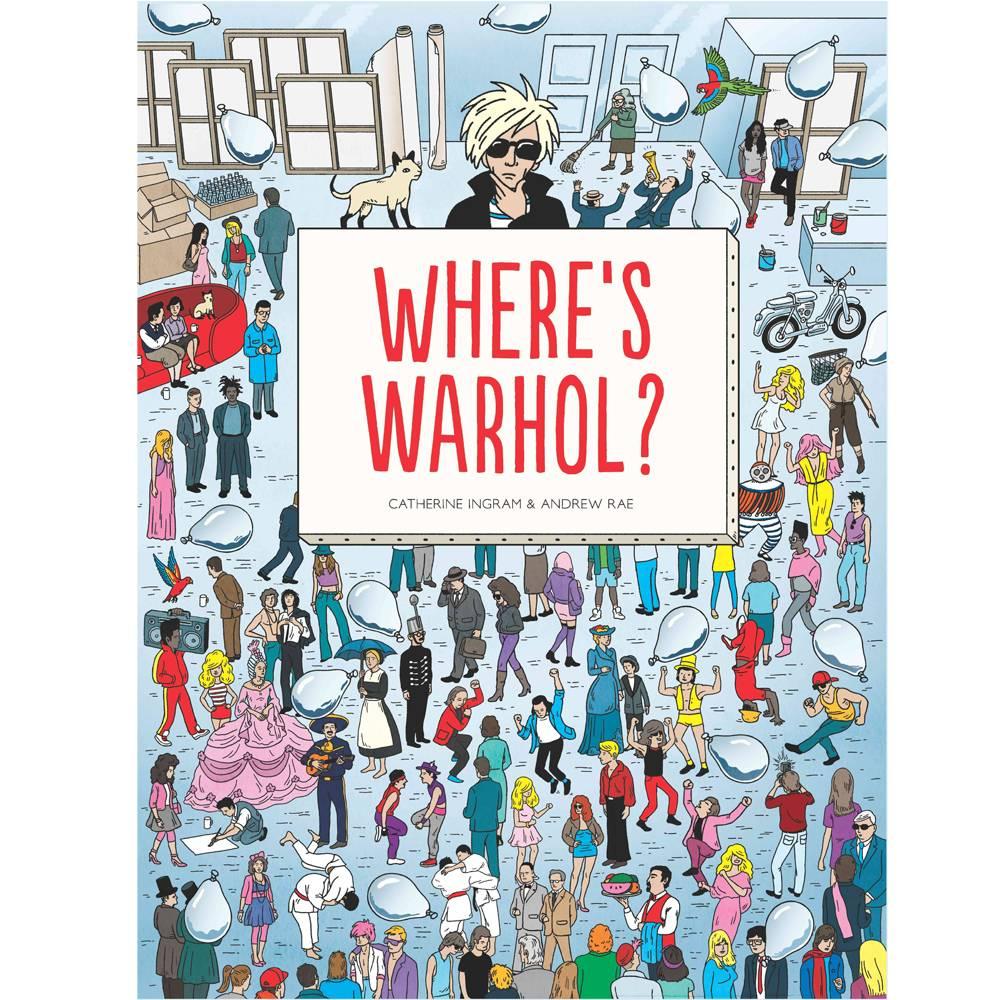 chronicle books where's warhol