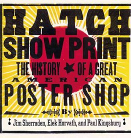 chronicle books hatch show print