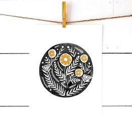 richelle bergen richelle bergen floral motif block print