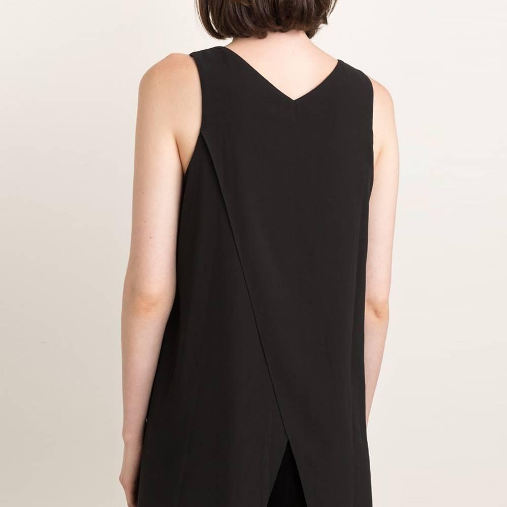 mystree embroidered armhole velvet dress