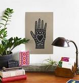 hammerpress hammerpress heart in hand art print