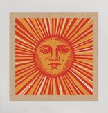 hammerpress hammerpress sun face art print