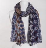 vsa vsa se-0123 brown scarf