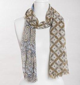 vsa vsa se-0132 khaki scarf