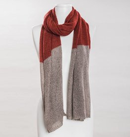 vsa vsa se-0165 rust scarf