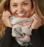 tickled pink tickled pink bountiful blanket infinity scarf