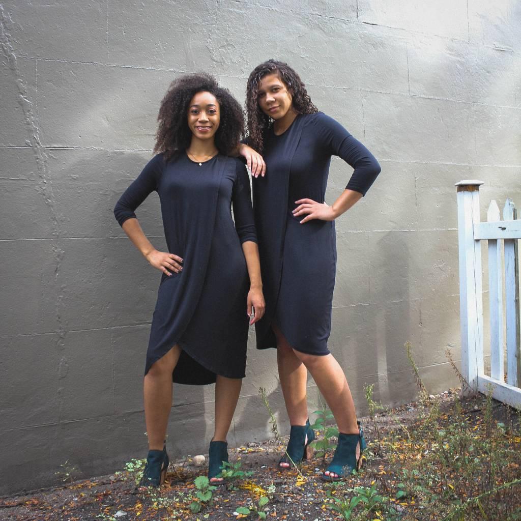 la made LA made cala dress black