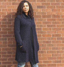 blue canoe blue canoe audrey coat navy blue