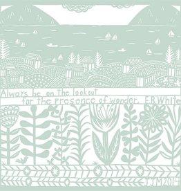 swallowfield swallowfield wonder by e.b. white matte art print