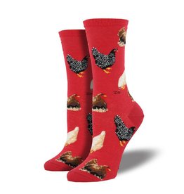socksmith socksmith hen house red socks