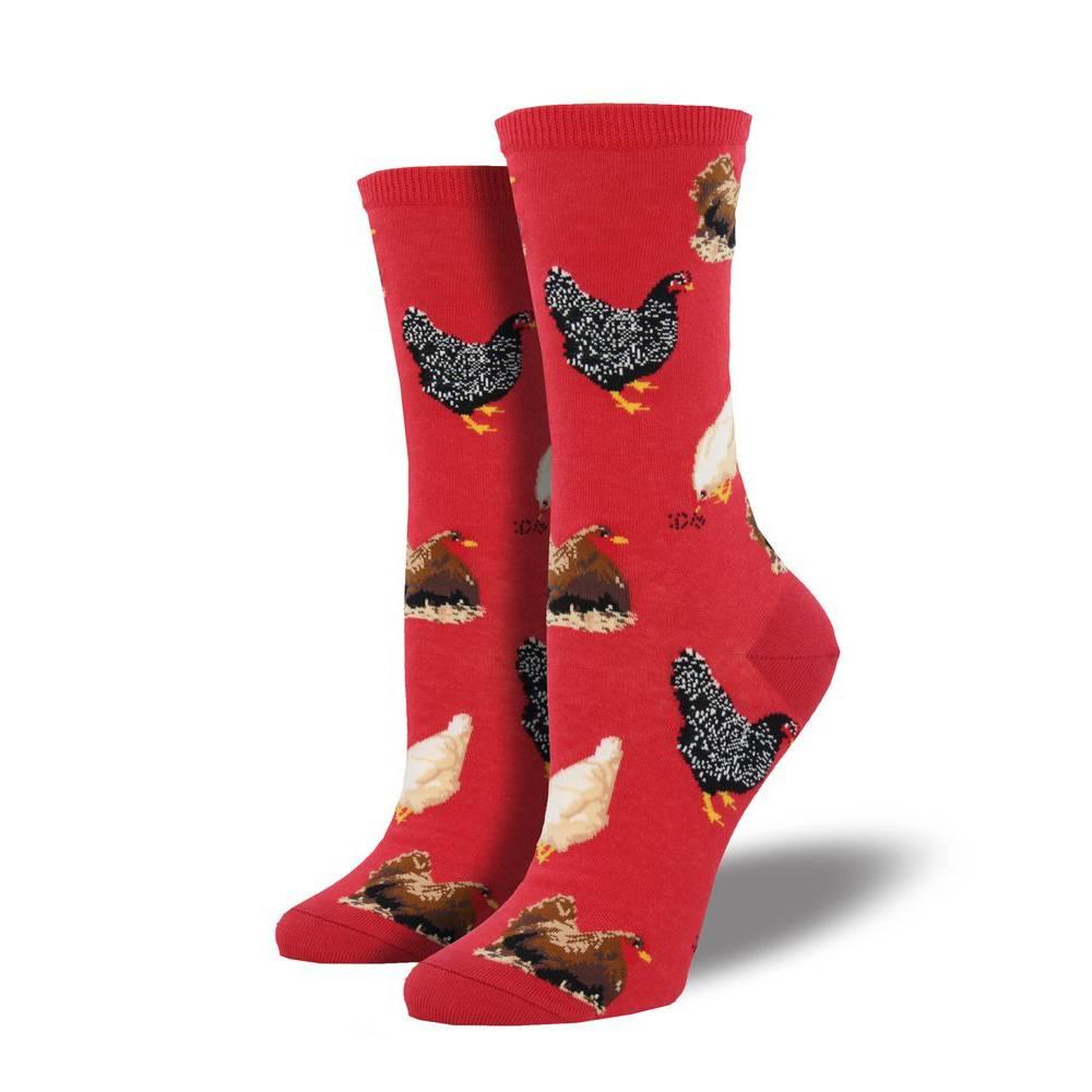 socksmith socksmith hen house red socks