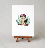 wildship studio wildship studio frida kahlo art print
