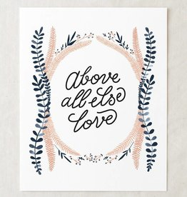 wildship studio wildship studio above all else, love art print