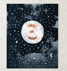 wildship studio wildship studio all is bright art print