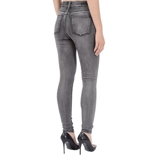 lola jeans lola jeans alexa high rise charcoal skinny jeans