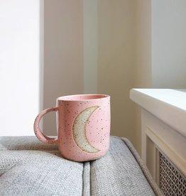 hinkleville handmade hinkleville moon mug