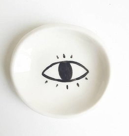hinkleville handmade hinkleville small eye dish