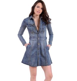 lola jeans lola jeans christie a-line denim coat