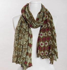 vsa vsa se-0123 olive scarf