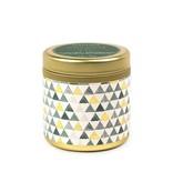 paddywax kaleidoscope 3 oz. gold tin w/ lid