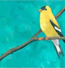 cody blomberg cody blomberg 6x6 c011 goldfinch