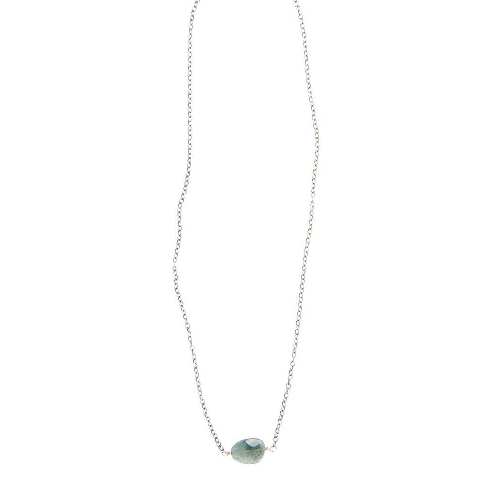 original hardware original hardware moss aquamarine necklace
