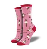 socksmith ballet people socks dusty pink