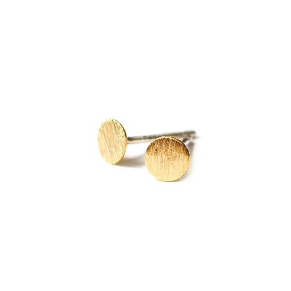 adorn512 circle stud earrings