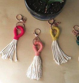cait quinn magnolia weavings key chains small