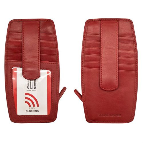 intercontinental leather (IL) ili credit card holder 7804