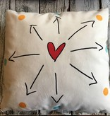 zpots zpots beloved pillow 18 inch