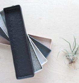 elizabeth benotti elizabeth benotti long pinched tray grey