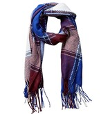tickled pink tickled pink kendall plaid scarf