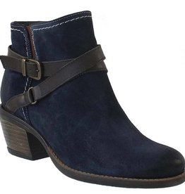 bos & co greenville deep blue booties