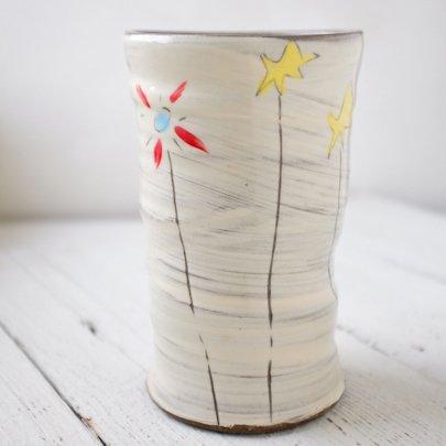 zpots zpots round field flower vase