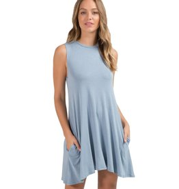 elan elan dress sleeveless w/ pockets