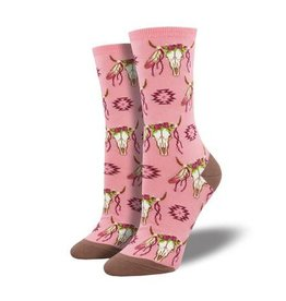 socksmith socksmith steer clear pink