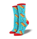 socksmith socksmith wiener dog blue