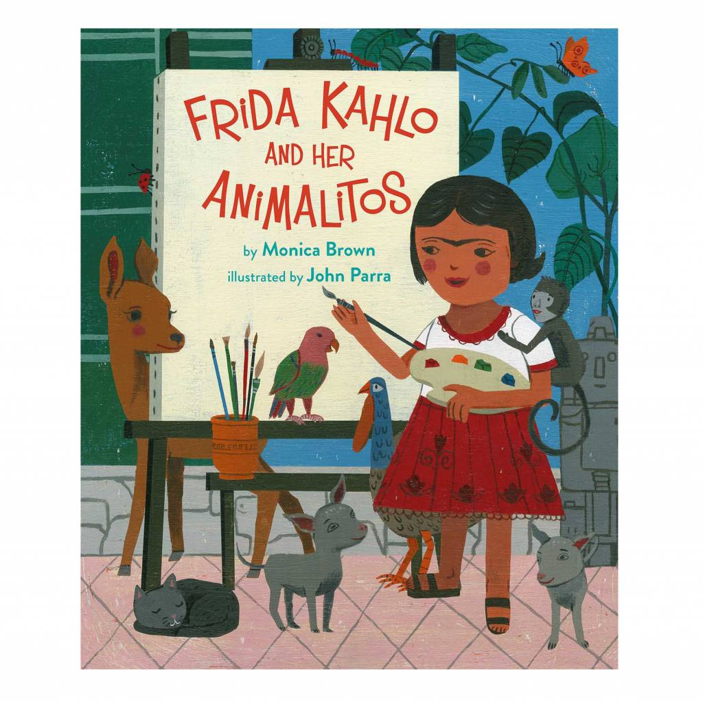 simon & schuster frida kahlo and her animalitos