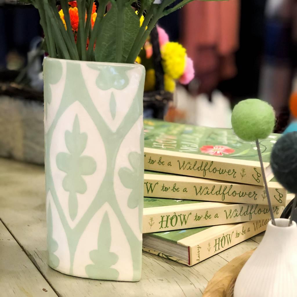 ceramica botanica ceramica botanica floral geometric vase