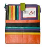 intercontinental leather (IL) ili smartphone wallet w/ RFID